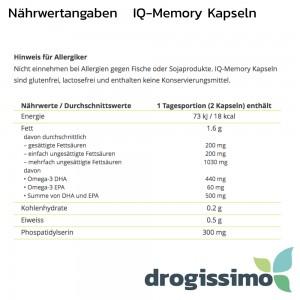 ALPINAMED IQ-Memory Kapseln 60 Stück