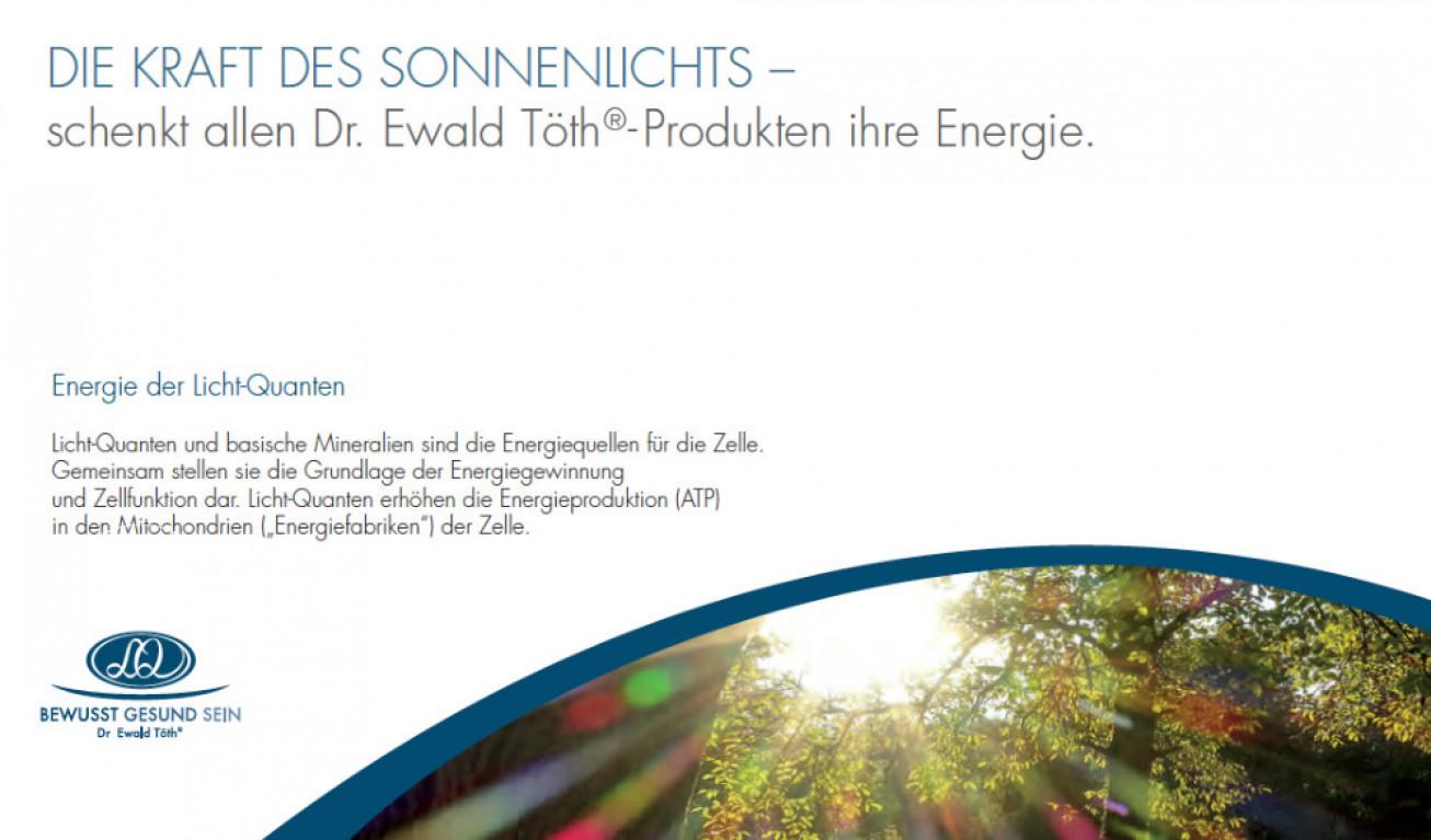 Biophotonen - Die Kraft des Sonnenlichts