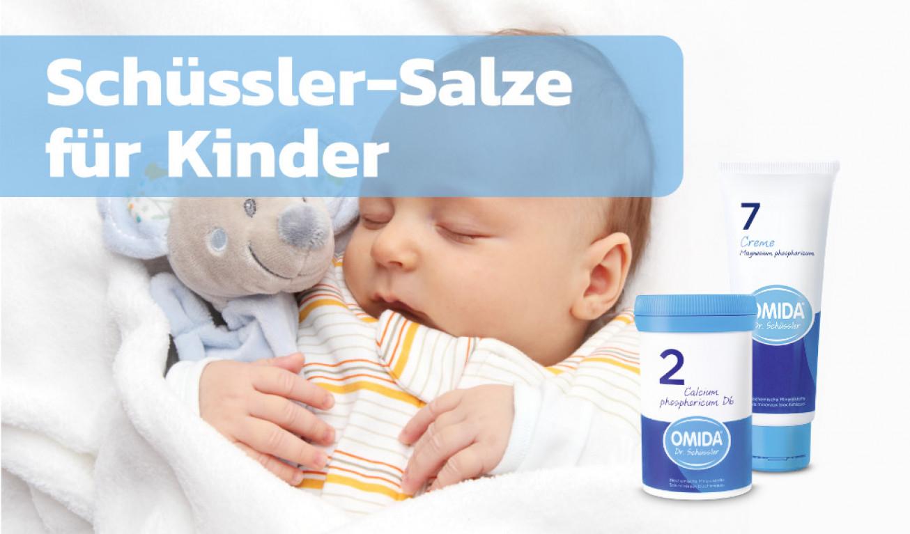 Dr. Schüssler-Salze bei Beschwerden bei Babys und Kleinkindern