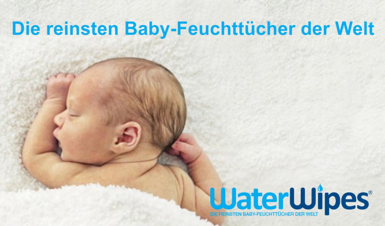 WaterWipes - die Feuchttücher ohne chemische Zusätze