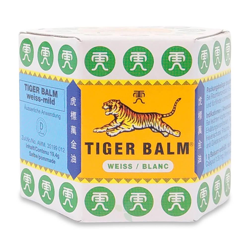 TIGER BALM Salbe weiss-mild Topf 19.4g