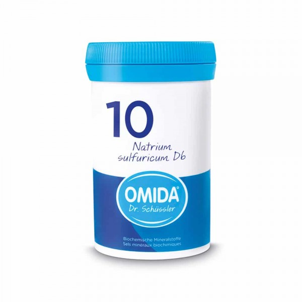 OMIDA SCHÜSSLER 10 Natrium sulfuricum Tabletten D6 20g