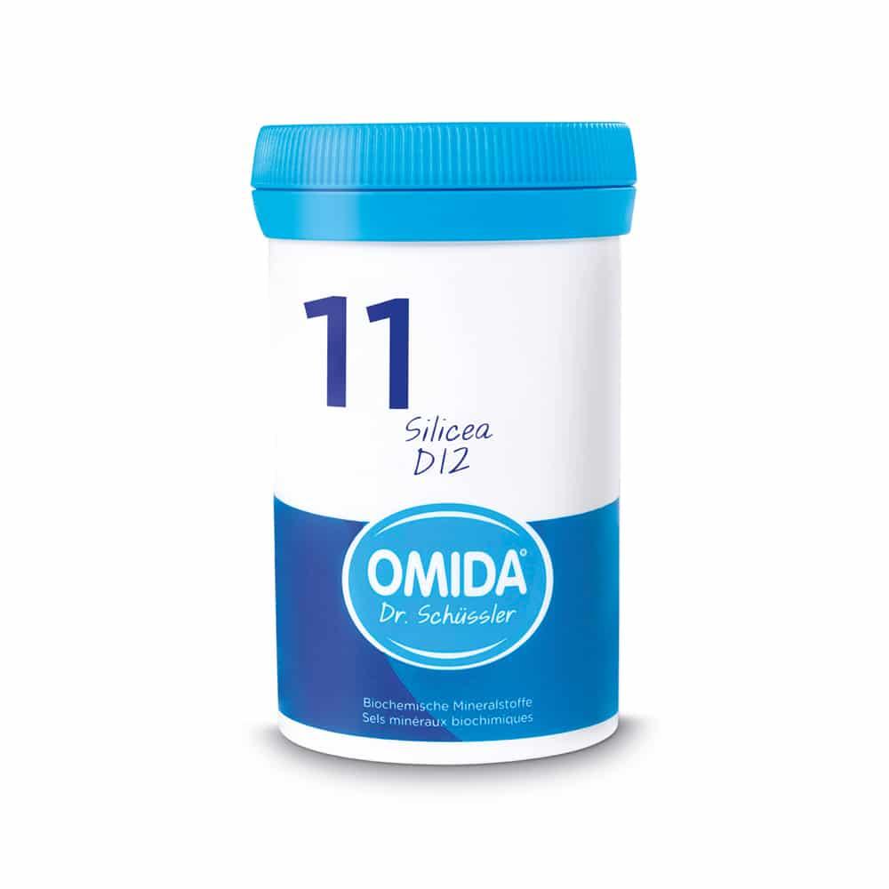 OMIDA SCHÜSSLER 11 Silicea Tabletten D12 20g