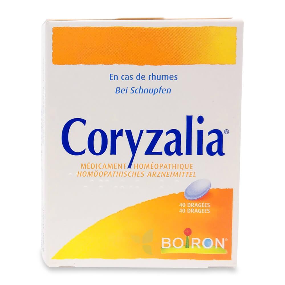 CORYZALIA Boiron Dragées 40 Stück