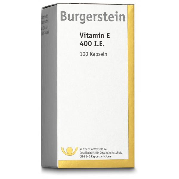BURGERSTEIN Vitamin E Kapseln 400E 100 Stück