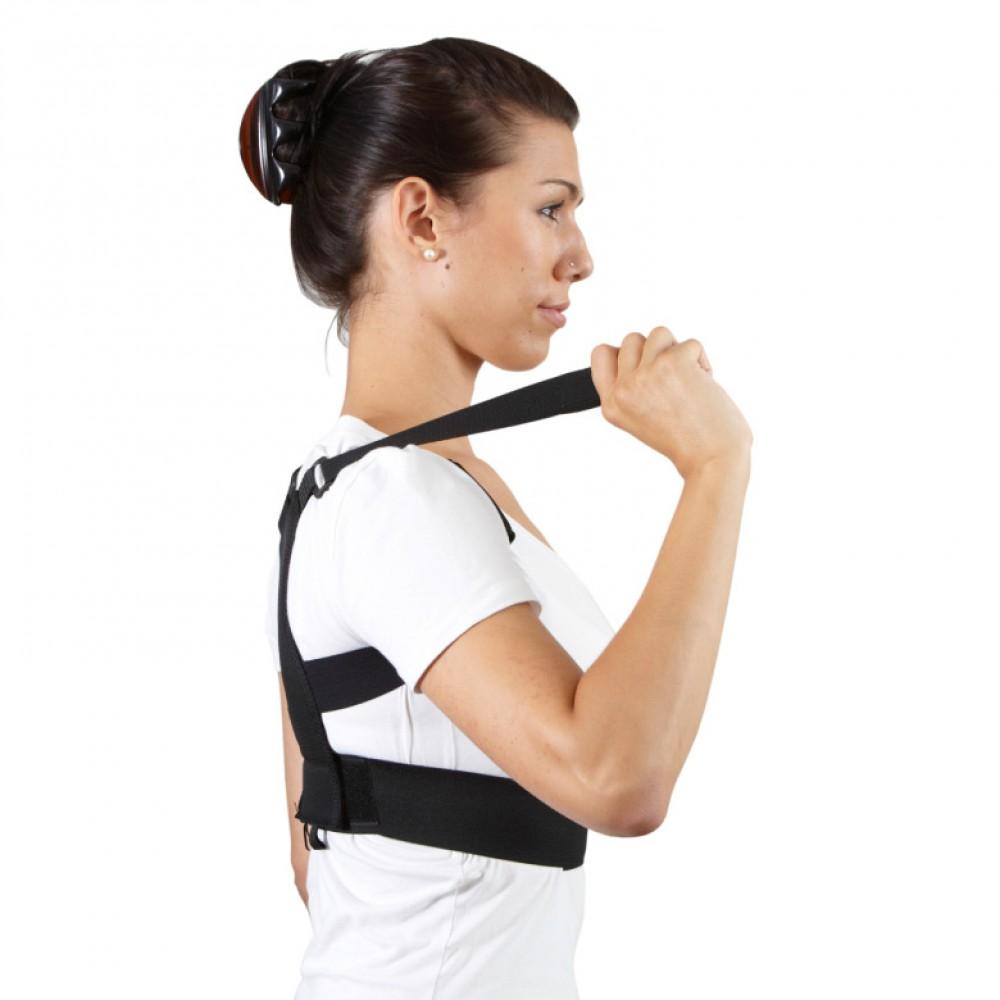 BackGym Haltungstrainer schwarz Grösse XL