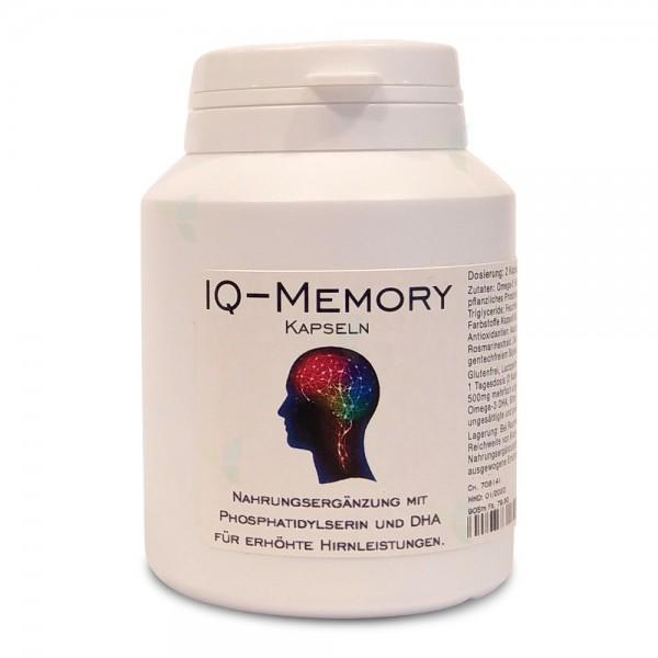 ANRIG IQ-Memory Kapseln 90 Stück