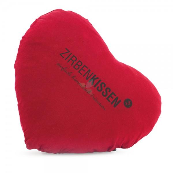 Zirbenfamilie Zirbenkissen Herzform