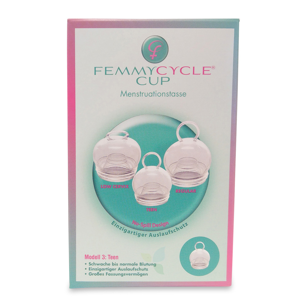 Femmycycle Menstruationstasse Teen
