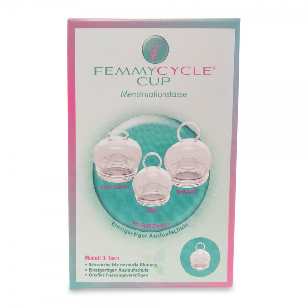 Femmycycle Menstruationstasse Teen