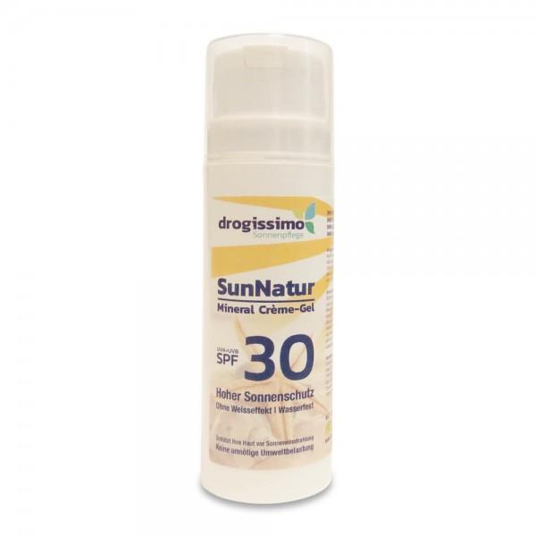 drogissimo SunNatur Mineral Crème-Gel SPF30 150ml