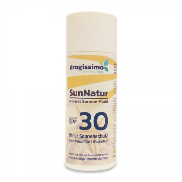 drogissimo SunNatur Mineral Sonnen-Fluid SPF30