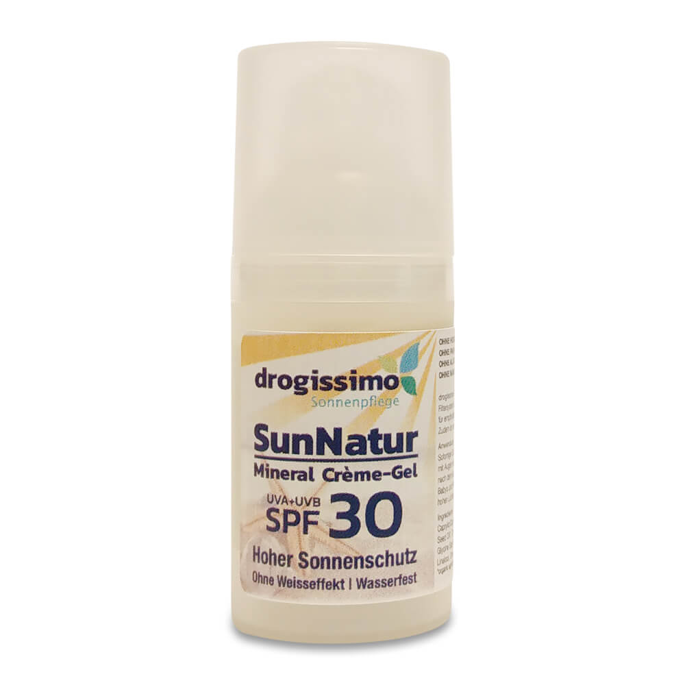 drogissimo SunNatur Mineral Crème-Gel SPF30 30ml