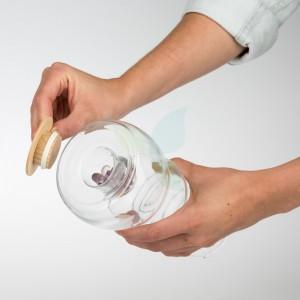 Nature's Design Wasserkrug CADUS Edelsteine 1L