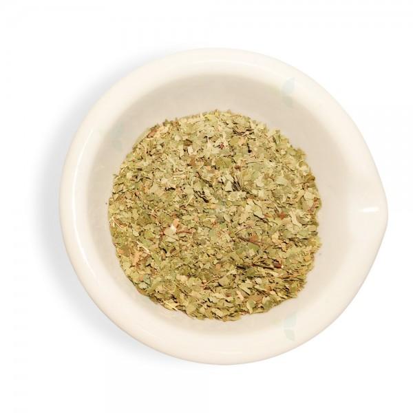 Betulae folium concisa  - Birkenblatt geschnitten