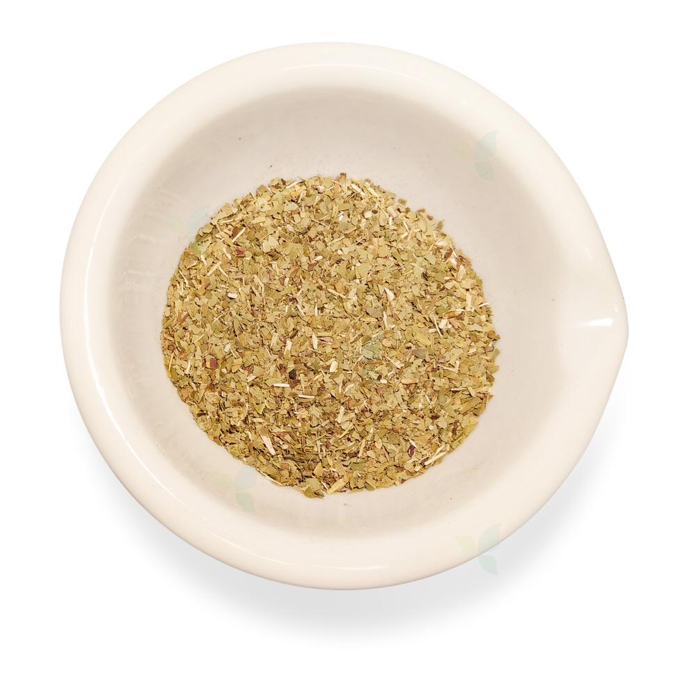 Mate folium viride concisa - Mate Blatt geschnitten