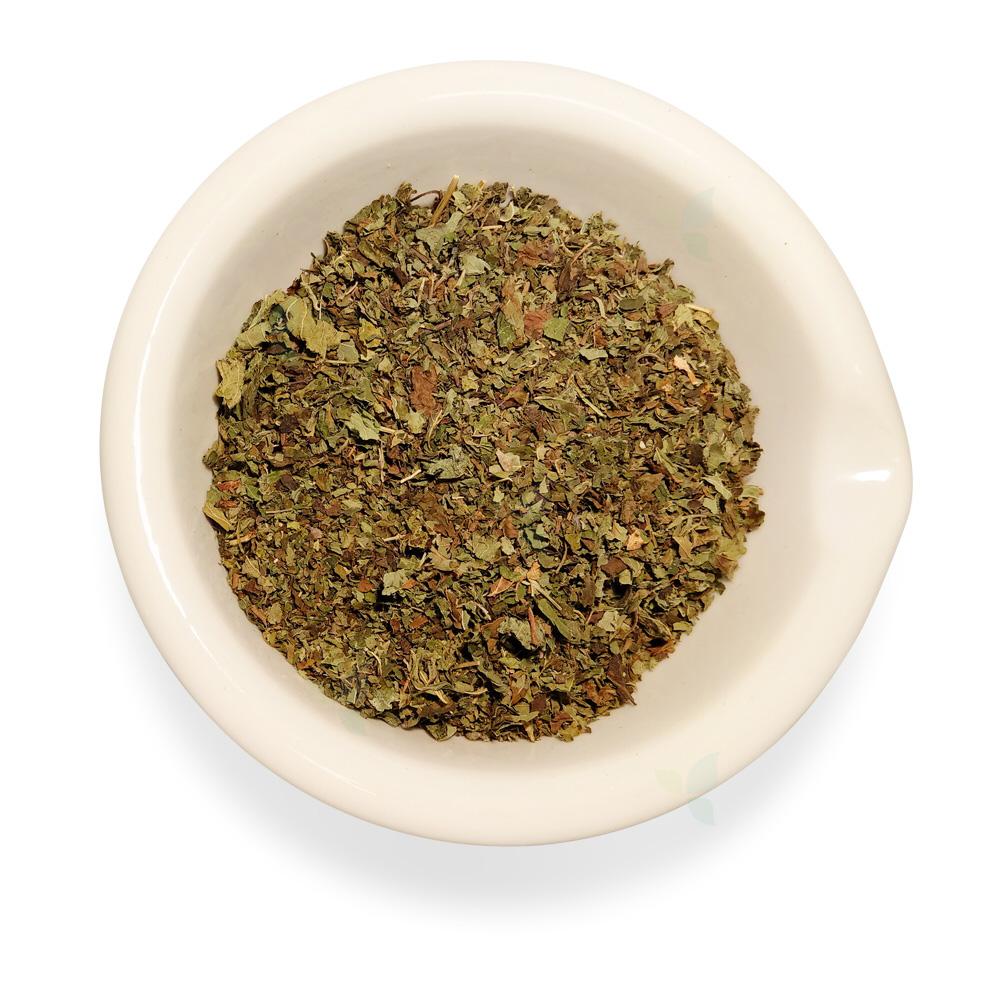 Melissae folium concisa  - Melissenblatt geschnitten