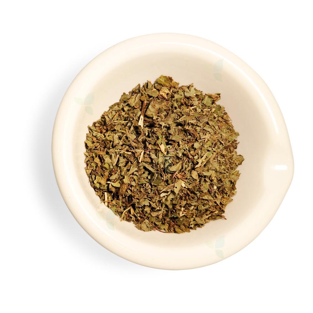 Menthae piperithae folium concisa  - Pfefferminzblatt geschnitten