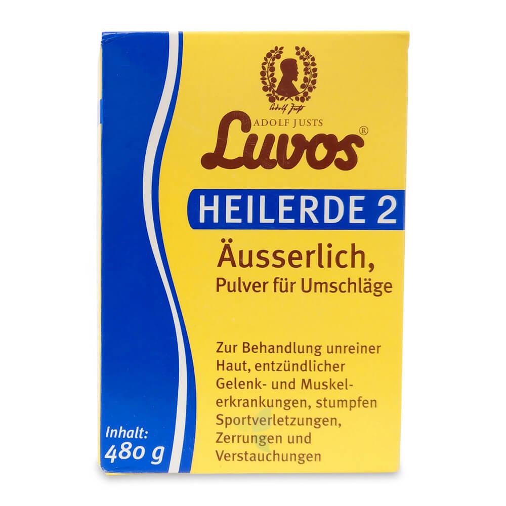 LUVOS Heilerde 2 Pulver äusserlich 480g