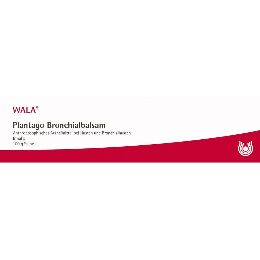 WALA Plantago Bronchialbalsam Tb 100 g