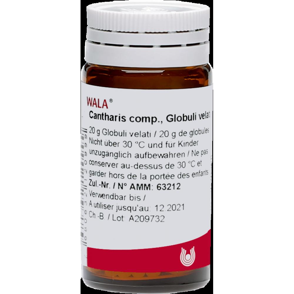 WALA Cantharis comp Glob Fl 20 g