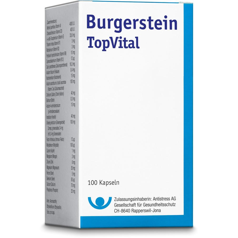 BURGERSTEIN Top Vital Kapseln 100 Stück