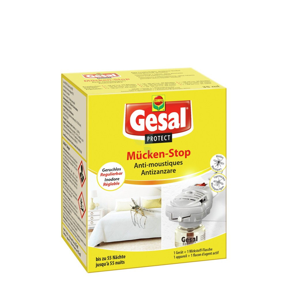 GESAL Protect Mücken Stop Verdunster & Nachfüllung