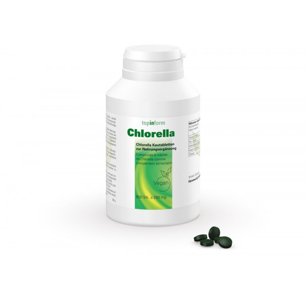 ALPINAMED Chlorella Tabletten 250mg 800 Stück