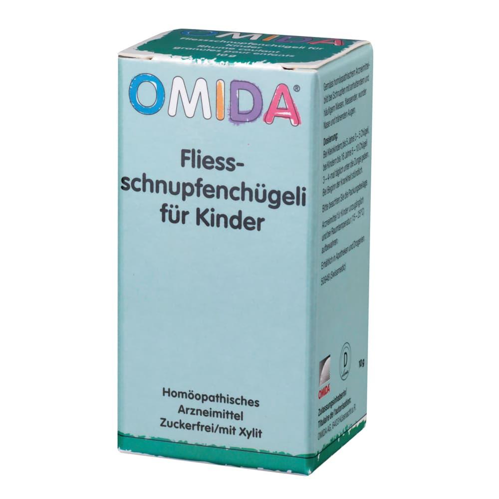 OMIDA Fliessschnupfenchügeli für Kinder 10g