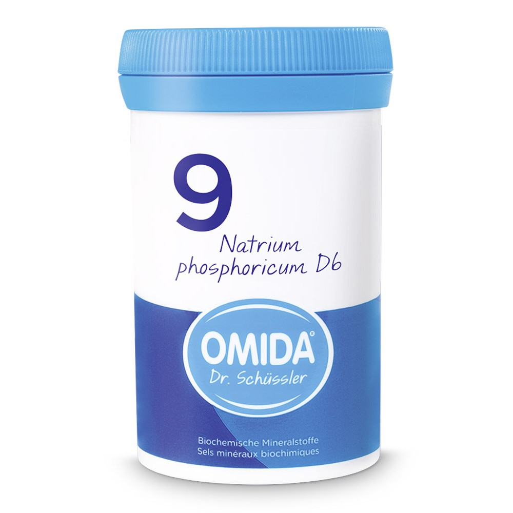OMIDA SCHÜSSLER 9 Natrium phosphoricum Tabletten D6 100g