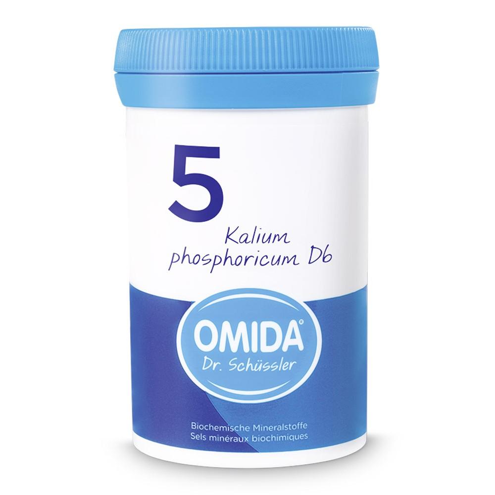 OMIDA SCHÜSSLER 5 Kalium phosphoricum Tabletten D6 100g