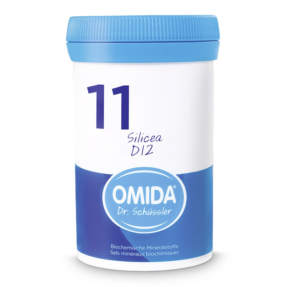 OMIDA SCHÜSSLER 11 Silicea Tabletten D12 100g