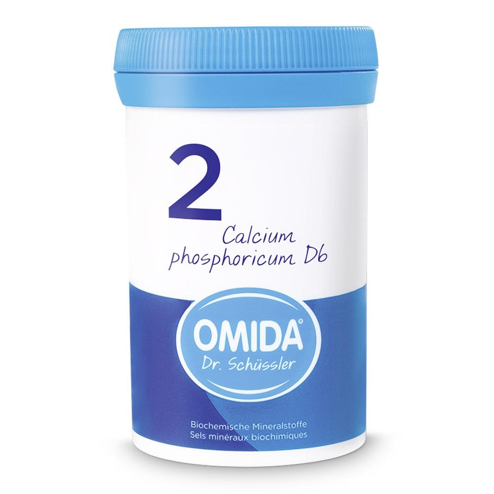 OMIDA SCHÜSSLER 2 Calcium phosphoricum Tabletten D6 100g