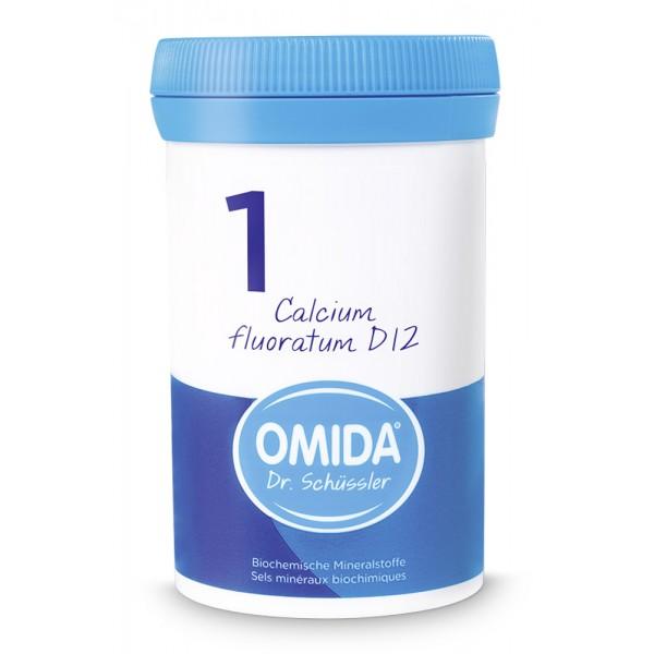 OMIDA SCHÜSSLER 1 Calcium fluoratum Tabletten D12 100g