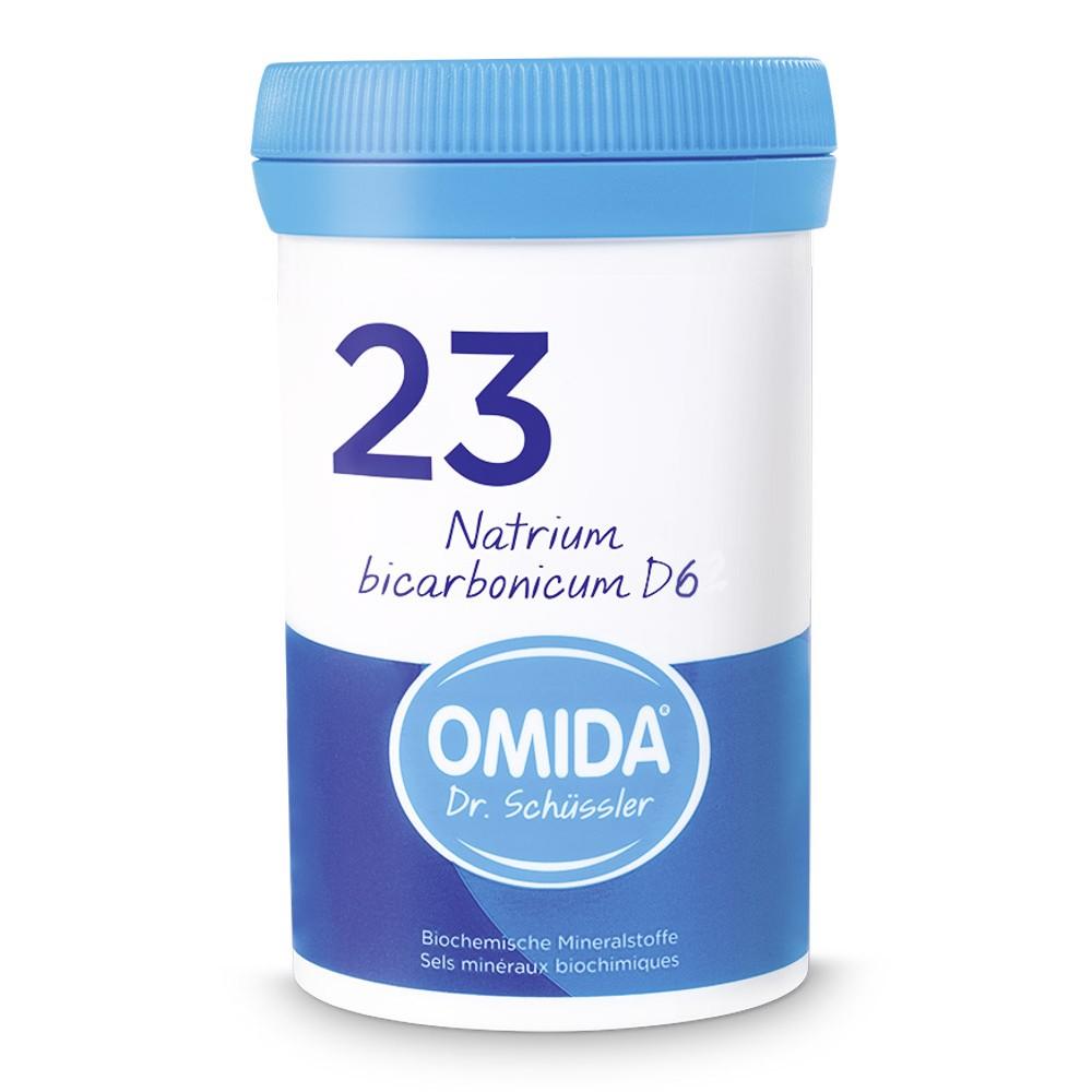 OMIDA SCHÜSSLER 23 Natrium bicarbonicum Tabletten D6 100g