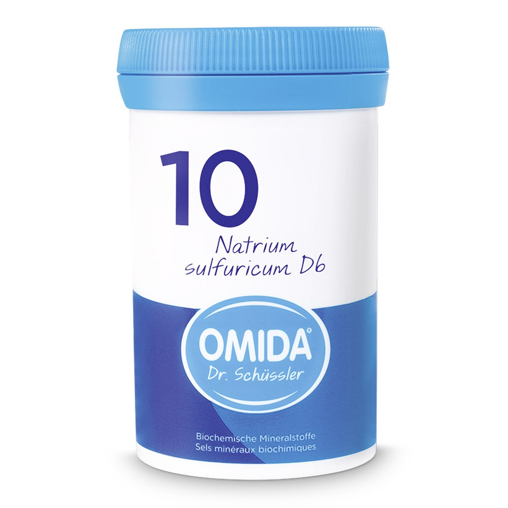 OMIDA SCHÜSSLER 10 Natrium sulfuricum Tabletten D6 100g