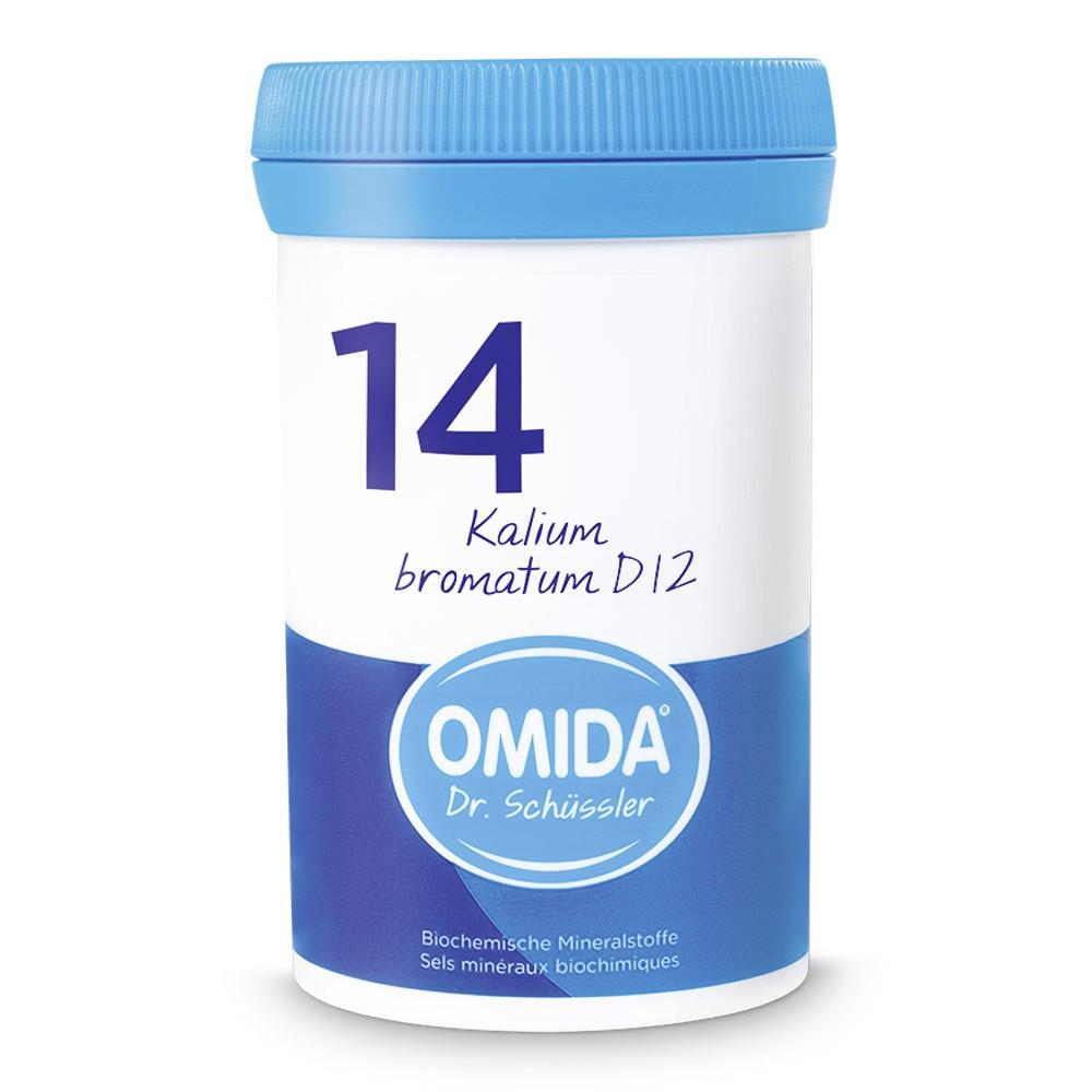 OMIDA SCHÜSSLER 14 Kalium bromatum Tabletten D12 100g