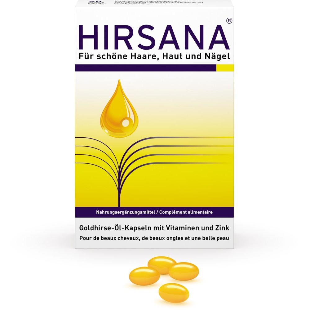 HIRSANA Goldhirse-Öl-Kapseln 90 Stück