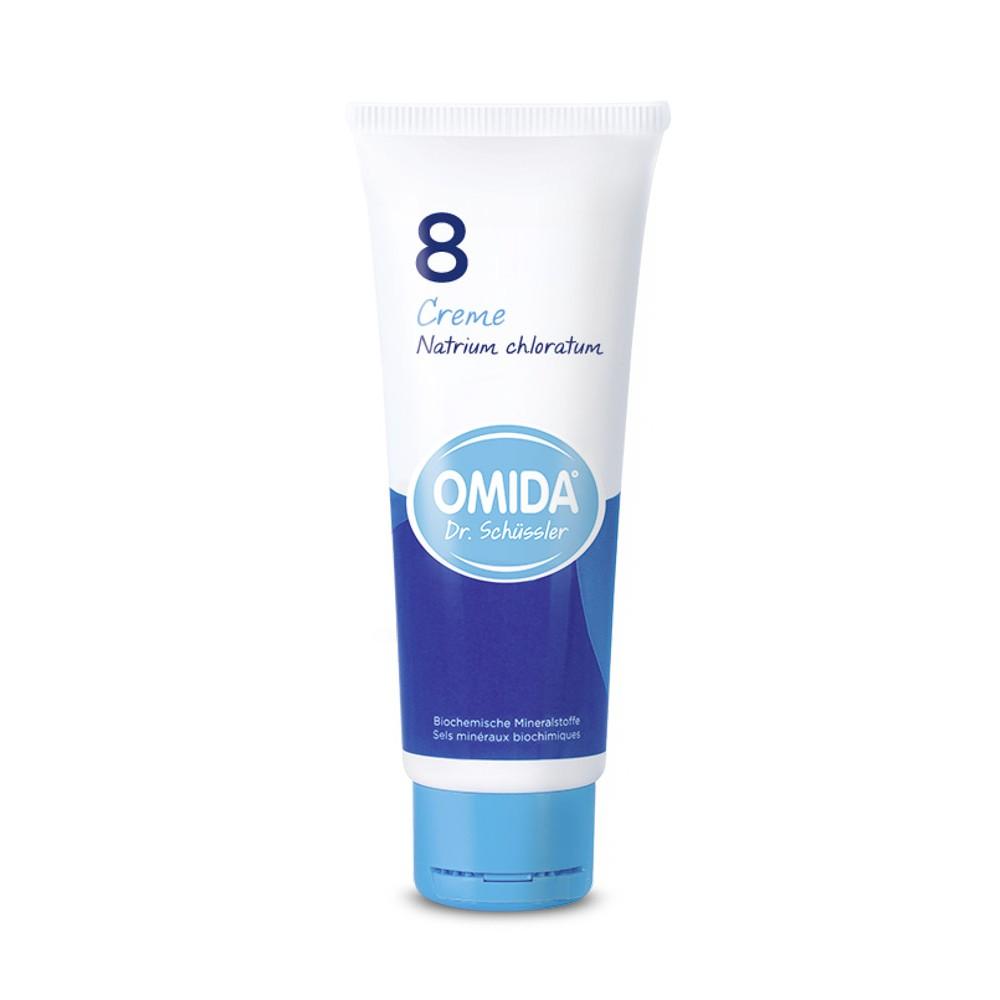 OMIDA SCHÜSSLER 8 Natrium chloratum Creme D6 75ml