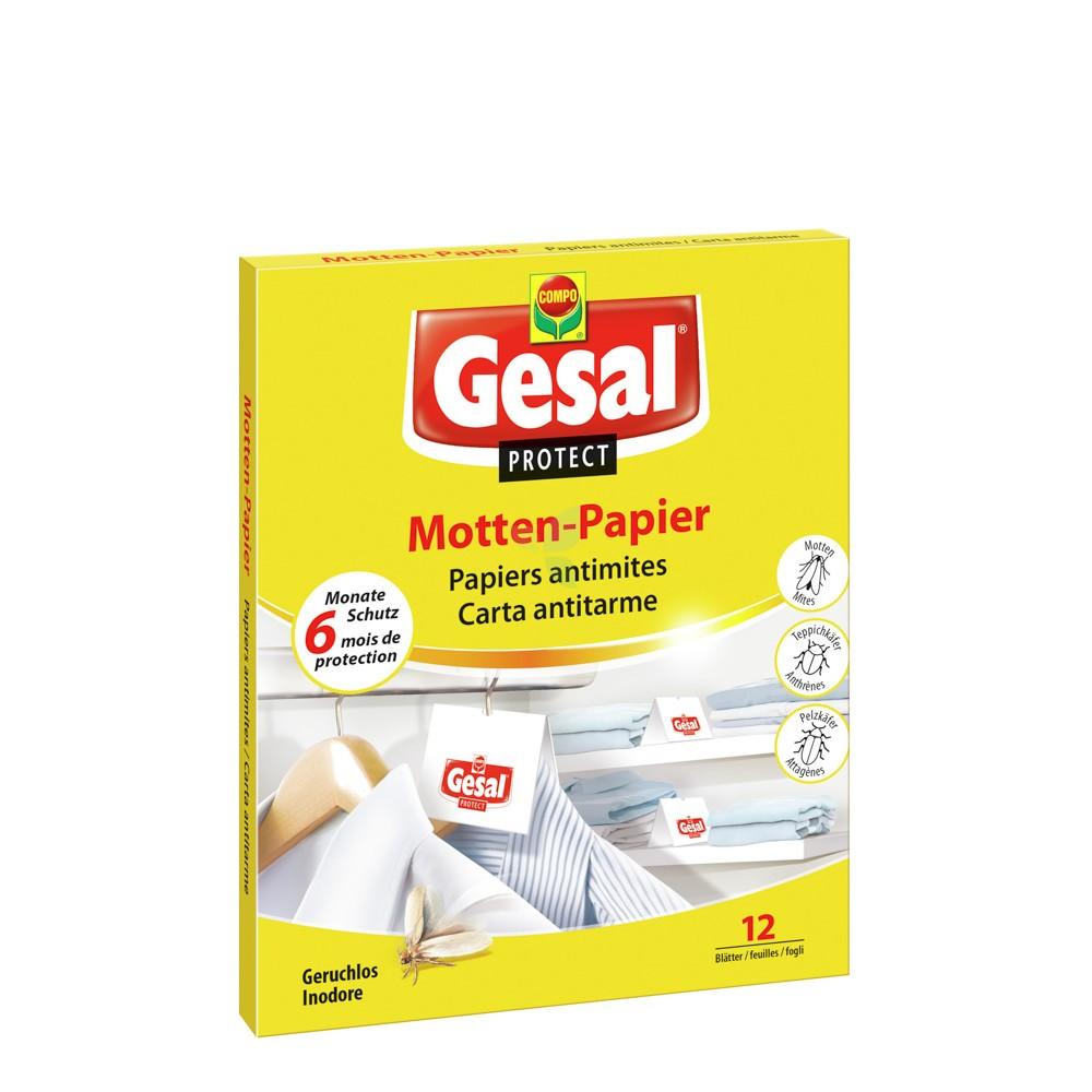 GESAL Protect Motten Papier 12 Stück