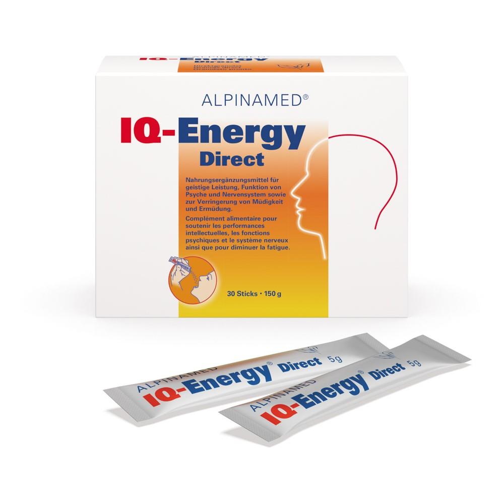 ALPINAMED IQ-Energy Direct 30 Sticks 5g