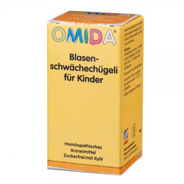 OMIDA Blasenschwächechügeli für Kinder 10g