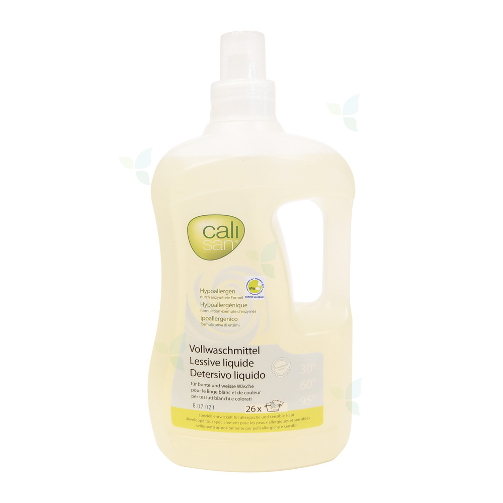 CALISAN Vollwaschmittel flüssig hypoallergen 2lt