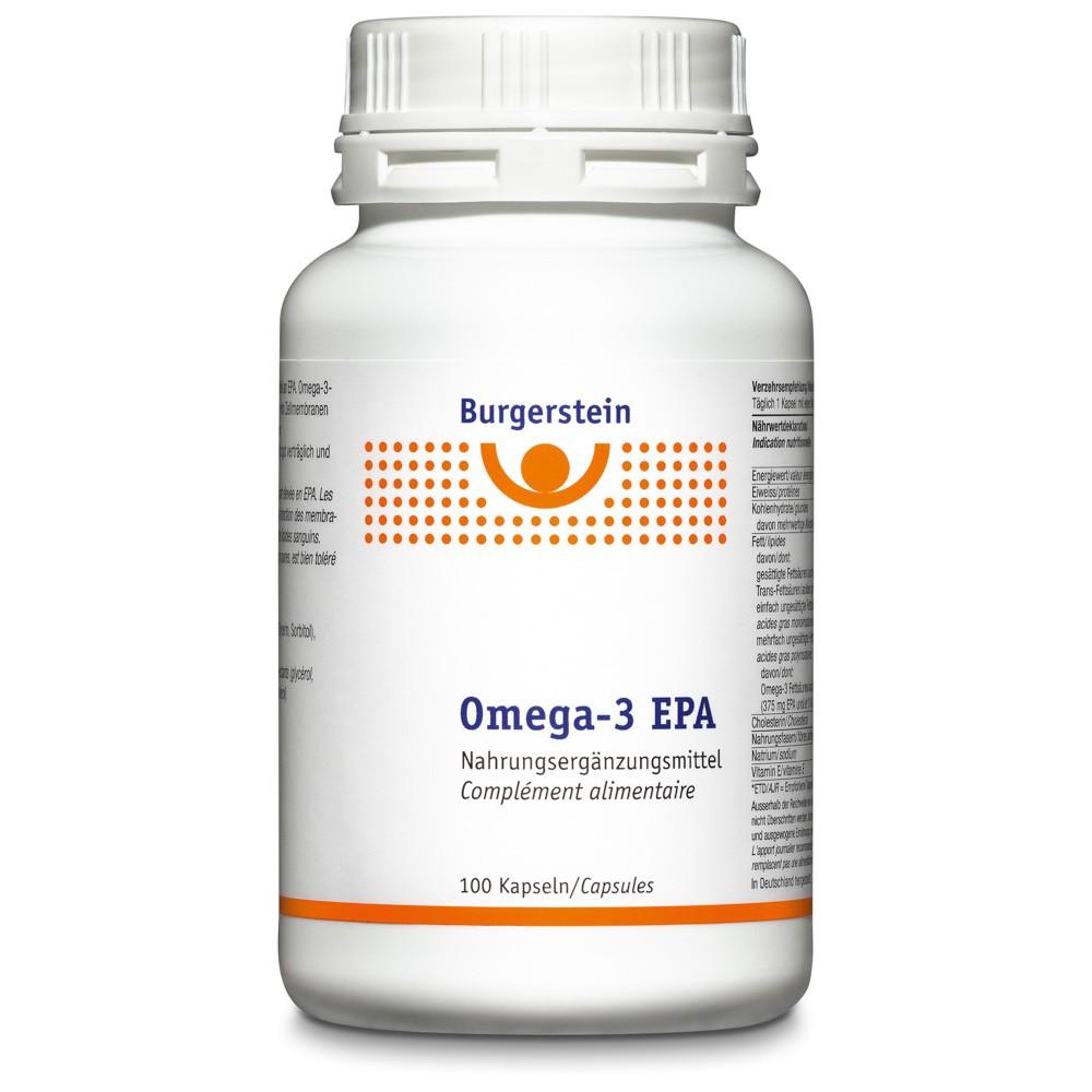 BURGERSTEIN Omega 3-EPA Kapseln 100 Stück