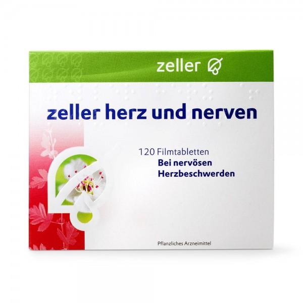 ZELLER Herz und Nerven Filmtabletten 120 Stück