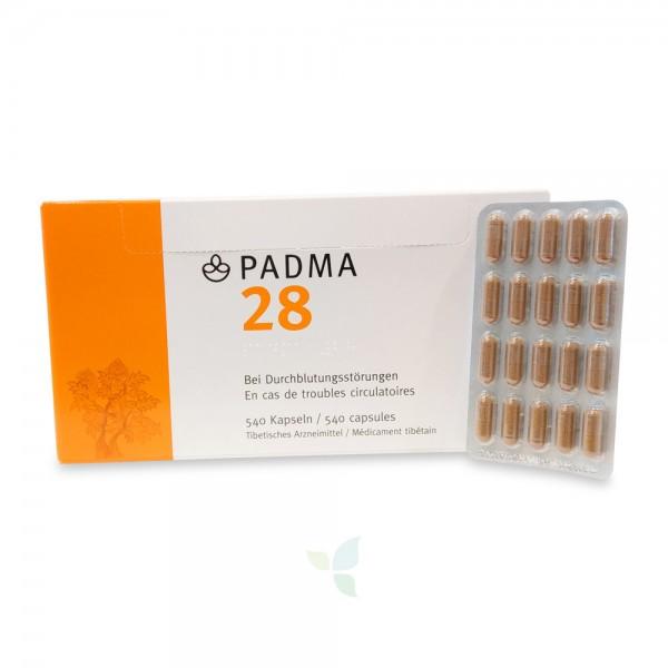 PADMA 28 Kapseln 540 Stück