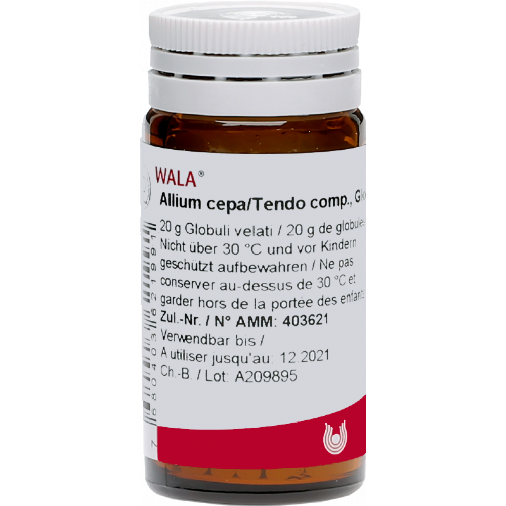 WALA Allium cepa/Tendo comp Glob Fl 20 g