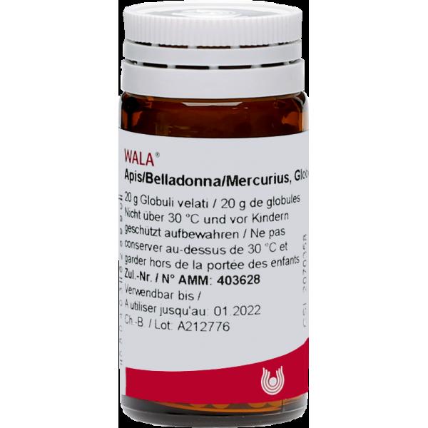 WALA Apis/Belladonna/Mercurius Glob Fl 20 g