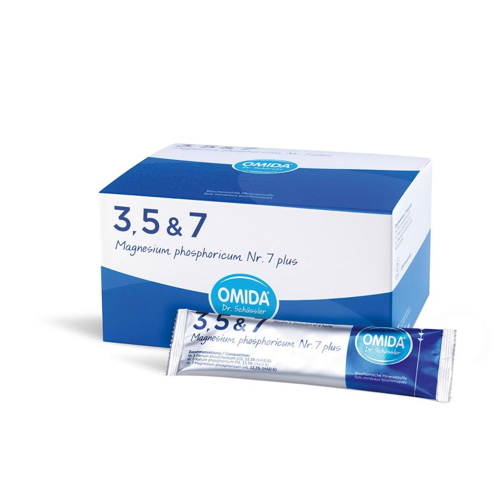 OMIDA SCHÜSSLER 7 Magnesium phosphoricum plus 30 Beutel