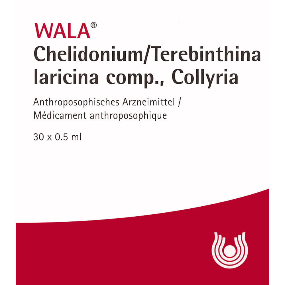 WALA Chelidonium/Terebinthina lar comp 30 x 0.5 ml